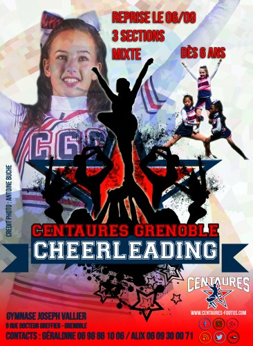 affiche recrutement cheer 2016