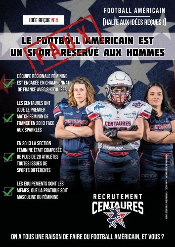 Recrutement foot US FEM