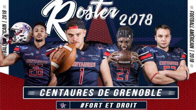 Bannière roster 2018